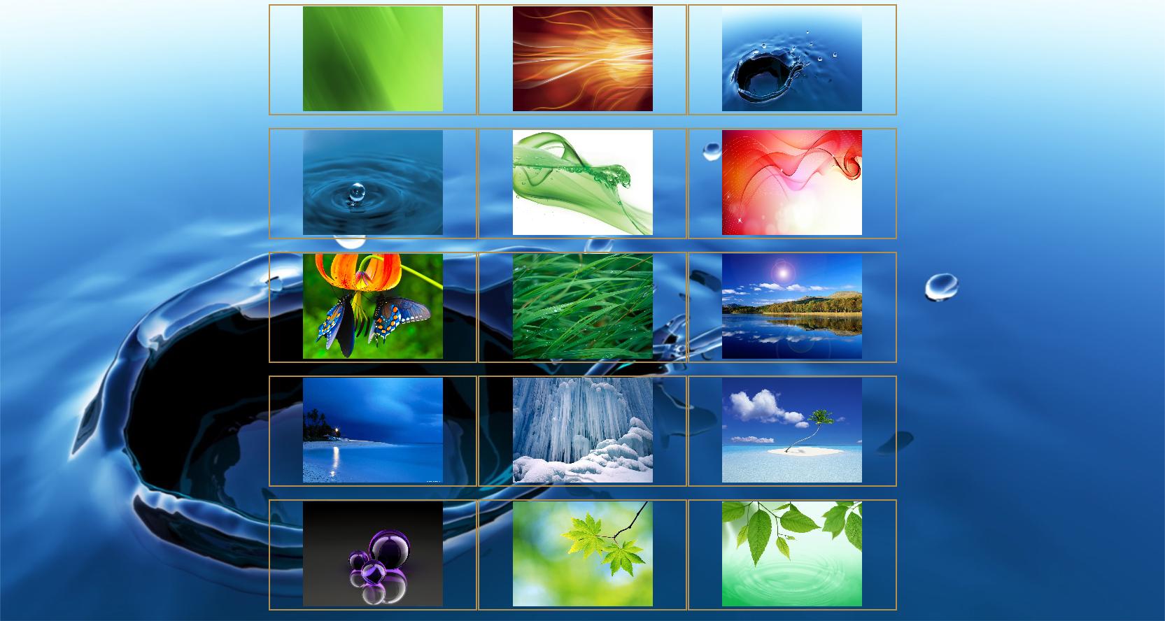 SkyOptical - personalizzazione sfondo