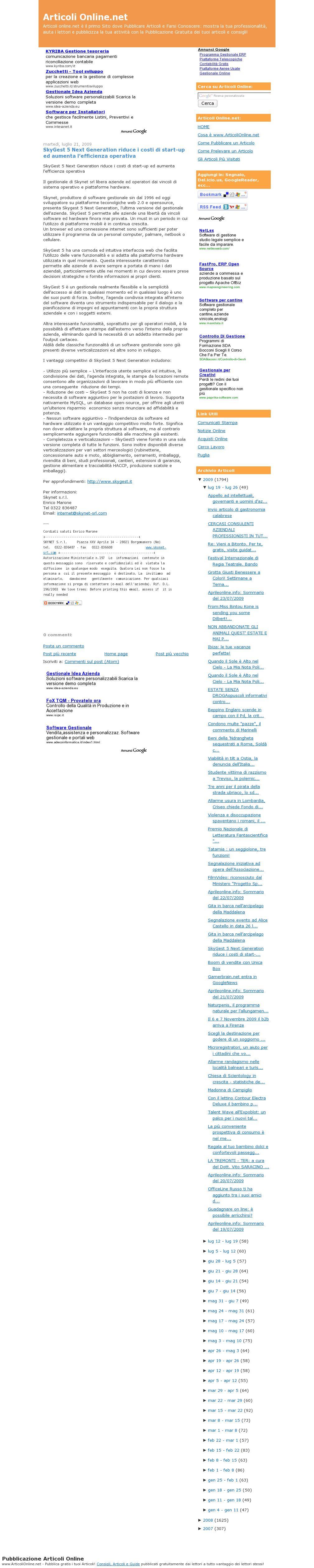 articolionline_net-SkyGest 5 Next Generation riduce i costi di start-up ed aumenta l'efficienza operativa_220709
