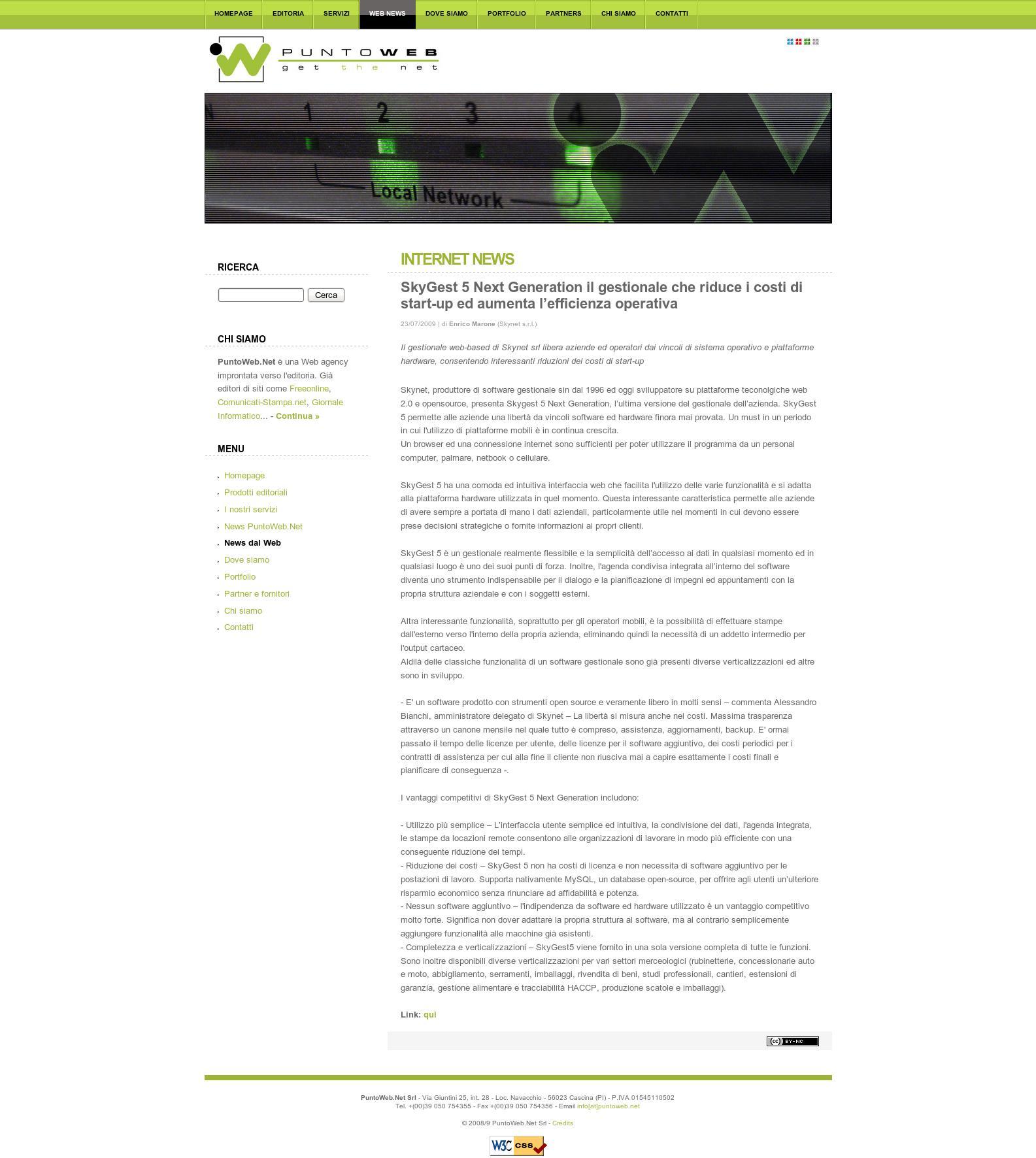 SkyGest 5 Next Generation il gestionale che riduce i costi di start-up ed aumenta l'efficienza operativa